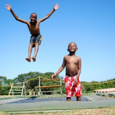 KIDS playing at Hiberdenne Picture; DOCTOR NGCOBO